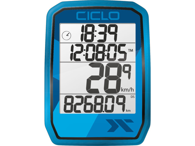 Ciclosport Protos 205 Fietscomputer, blue